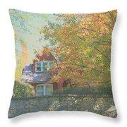 Early Autumn Home Throw Pillow