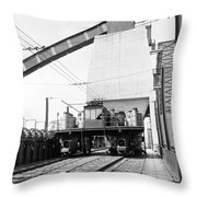 Early Charge Car Throw Pillow
