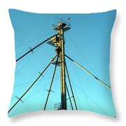 Early Directions Throw Pillow