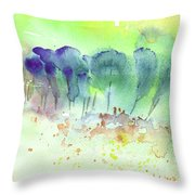 Early Morning 50 Throw Pillow