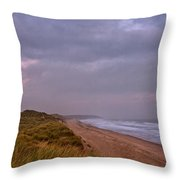 Early Morning At Warkworth Throw Pillow