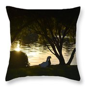 Early Morning Delight Throw Pillow