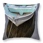 Early Morning Dock Throw Pillow