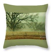 Early Morning Fog 019 Throw Pillow