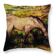 Early Morning Hours Throw Pillow