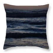 Early Morning Ocean Throw Pillow