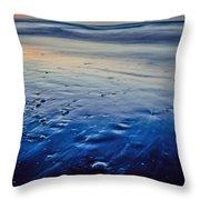 Early Morning On A Sea Coast Throw Pillow