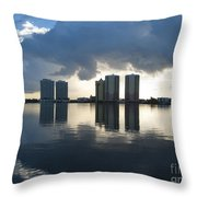 Early Morning Reflection Throw Pillow