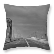 Early One Sunday Morning Throw Pillow