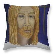 Early Perception Of Jesus. Throw Pillow
