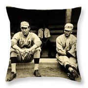 Early Red Sox Throw Pillow