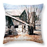 Early Spring Throw Pillow by Hanne Lore Koehler