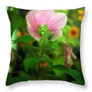 Early Summer Bloom Throw Pillow