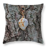 Earring In A Tree Throw Pillow