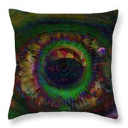 Earth And Soul Throw Pillow