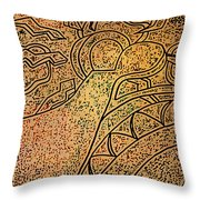 Earth And Sun Throw Pillow