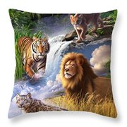 Earth Day 2013 Poster Throw Pillow