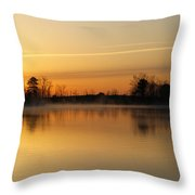 Earth Day Sunrise II Throw Pillow
