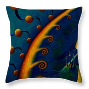 Earth Horizon 2010 Throw Pillow