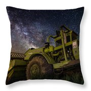 Earth Mover Throw Pillow