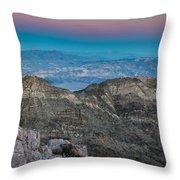 Earth Shadow Throw Pillow