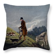Earth Stopper, 1820 Throw Pillow