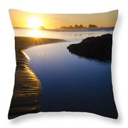 Earth The Blue Planet 7 Throw Pillow