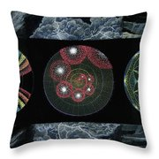 Earth's Beginnings Throw Pillow