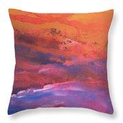 Earth's Canvas Throw Pillow