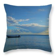 Easing Into The Day Throw Pillow