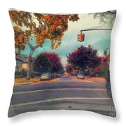 East 17 Street Throw Pillow
