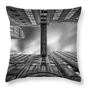 East 24th Throw Pillow