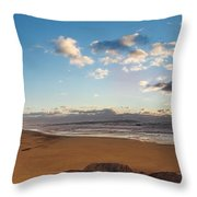 East Hampton Sunrise Throw Pillow