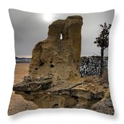 East Montana Formations Throw Pillow