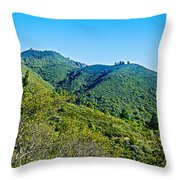 East Peak Of Mount Tamalpias-california Throw Pillow