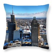 East Side Winter 2013 Throw Pillow