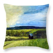 East Tennessee Farm Throw Pillow
