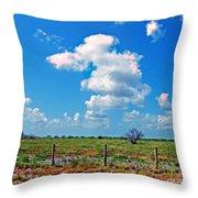 East Texas View Throw Pillow
