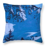 East Wall Throw Pillow