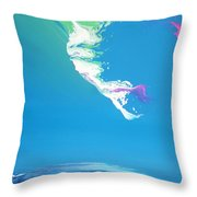 East Wind I Throw Pillow