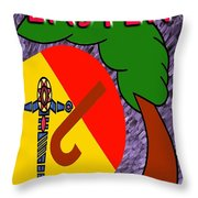 Easter 4 Throw Pillow