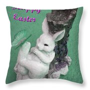 Easter Card 1 Throw Pillow