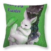 Easter Card 2 Throw Pillow