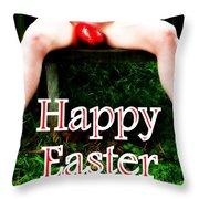 Easter Card 3 Throw Pillow