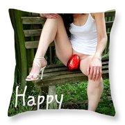 Easter Card 5 Throw Pillow