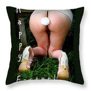 Easter Card 6 Throw Pillow