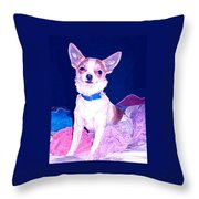 Easter Chachi Throw Pillow