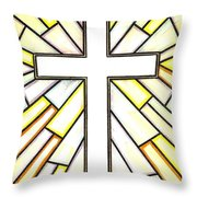 Easter Cross 3 Throw Pillow