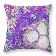 Easter Eggs By Jrr Throw Pillow