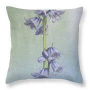 Easter Hyacinth Throw Pillow
